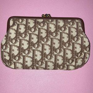 Dior wallet/ coin Purse- Vintage